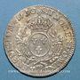 Monnaies Louis XV (1715-1774). Ecu aux lauriers 1730BB. Strasbourg