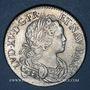 Monnaies Louis XV (1715-1774). Ecu de France-Navarre 1718 A