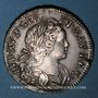 Monnaies Louis XV (1715-1774). Ecu de France-Navarre 1718 &. Aix