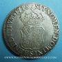 Monnaies Louis XV (1715-1774). Ecu de France-Navarre 1718 S. Reims