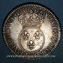 Monnaies Louis XV (1715-1774). Ecu vertugadin 1716 &. Aix