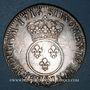 Monnaies Louis XV (1715-1774). Ecu vertugadin 1716. Rennes