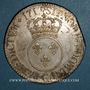 Monnaies Louis XV (1715-1774). Ecu vertugadin 1717 G. Poitiers. Réformation