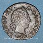 Monnaies Louis XV (1715-1774). Liard à la vieille tête 1770. Besançon