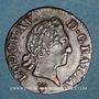 Monnaies Louis XV (1715-1774). Liard à la vieille tête 1770 S. Reims