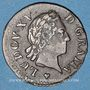 Monnaies Louis XV (1715-1774). Liard à la vieille tête 1770BB. Strasbourg