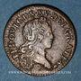 Monnaies Louis XV (1715-1774). Liard au buste enfantin 1720BB. Strasbourg