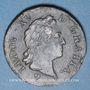 Monnaies Louis XV (1715-1774). Sol à la vieille tête 1770BB. Strasbourg