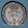 Monnaies Louis XV (1715-1774). Sol d'Aix 1772&. Aix