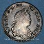 Monnaies Louis XV (1715-1774). XX sols de Navarre 1719 &. Aix