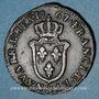Monnaies Louis XV (1715-74). Sol d'Aix 1767/6&. Aix. Inédit !