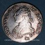 Monnaies Louis XVI (1774-1793). 1/2 écu aux lauriers 1791 A. 2e semestre