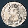 Monnaies Louis XVI (1774-1793). 1/2 écu aux lauriers 1792 A. 1er semestre