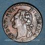 Monnaies Louis XVI (1774-1793). 1/2 sol 1779 &. Aix