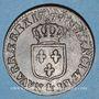 Monnaies Louis XVI (1774-1793). 1/2 sol 1779&. Aix. 1er sem.