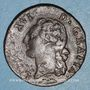 Monnaies Louis XVI (1774-1793). 1/2 sol 1782 &. Aix. Différent sous le buste : arc