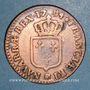 Monnaies Louis XVI (1774-1793). 1/2 sol 1784 BB. Strasbourg