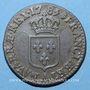 Monnaies Louis XVI (1774-1793). 1/2 sol 1785 A. 1er sem.