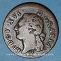 Monnaies Louis XVI (1774-1793). 1/2 sol 1786 L. Bayonne