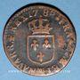 Monnaies Louis XVI (1774-1793). 1/2 sol 1788 MA. Marseille