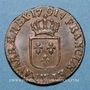 Monnaies Louis XVI (1774-1793). 1/2 sol 1791 W. Lille