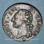Monnaies Louis XVI (1774-1793). 1/2 sol 1791MA. Marseille