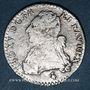 Monnaies Louis XVI (1774-1793). 12 sols aux lauriers 1785 A. Variante avec LUD XV