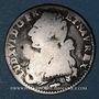 Monnaies Louis XVI (1774-1793). 24 sols aux lauriers (= 1/5 d'écu) 1786 Q. Perpignan