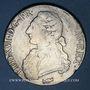 Monnaies Louis XVI (1774-1793). Ecu aux lauriers 1775 K. Bordeaux