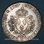 Monnaies Louis XVI (1774-1793). Ecu aux lauriers 1782 M. Toulouse