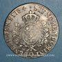 Monnaies Louis XVI (1774-1793). Ecu aux lauriers 1784 Q. Perpignan