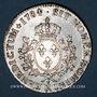 Monnaies Louis XVI (1774-1793). Ecu aux lauriers 1784 R. Orléans