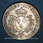 Monnaies Louis XVI (1774-1793). Ecu aux lauriers 1789 Q. Perpignan