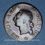 Monnaies Louis XVI (1774-1793). Liard 1788W. Lille