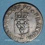 Monnaies Louis XVI (1774-1793). Liard 1790 M. Toulouse