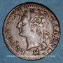 Monnaies Louis XVI (1774-1793). Liard 1791 B. Rouen. 2e semestre. Intéressante curiosité !