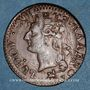 Monnaies Louis XVI (1774-1793). Liard 1791B. Rouen. 2e semestre. Intéressante curiosité !