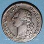Monnaies Louis XVI (1774-1793). Sol 1779 &. Aix