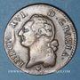 Monnaies Louis XVI (1774-1793). Sol 1784 BB. Strasbourg