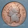 Monnaies Louis XVI (1774-1793). Sol 1785BB. Strasbourg. Grand BB