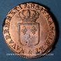 Monnaies Louis XVI (1774-1793). Sol 1786&. Aix
