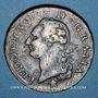 Monnaies Louis XVI (1774-1793). Sol 1788 MA. Marseille. Différent sous le buste : étoile