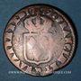 Monnaies Louis XVI (1774-1793). Sol de Béarn 1779. Pau