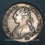 Monnaies Louis XVI (1774-93). 1/2 écu aux lauriers 1791.A (point devant la lettre d'atelier. 2e sem. Léopard
