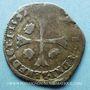 Monnaies Monnayage de la Ligue au nom de Henri III (1589-1596). Douzain 1594 G. Narbonne