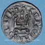 Monnaies Philippe III (1270-1285) ou Philippe IV (1285-1314). Denier tournois à l'O rond