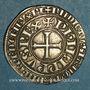 Monnaies Philippe IV le Bel (1285-1314). Gros tournois à l'O long (1290-95). L fleurdelisé (?)