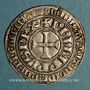 Monnaies Philippe IV le Bel (1285-1314). Gros tournois à l'O rond. L bidenté