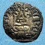 Monnaies Philippe IV le Bel (1285-1314). Obole tournois à l'O rond