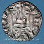 Monnaies Philippe VI (1328-1350). Denier tournois avec châtel meublé d'un besant